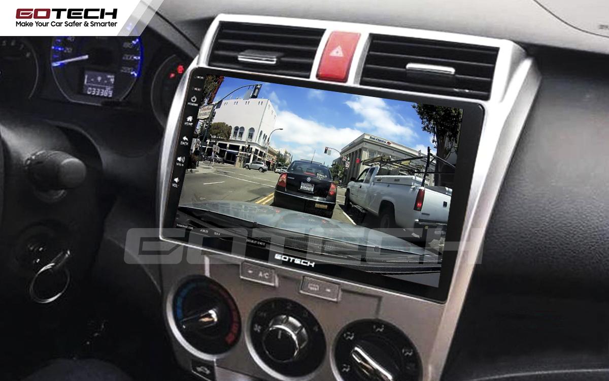 Tích hợp các loại camera trên màn hình ô tô thông minh GOTECH
