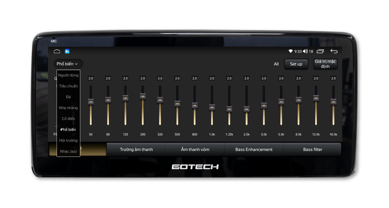 Tận hưởng trải nghiệm âm thanh đỉnh cao khi có màn hình GT Mazda Pro