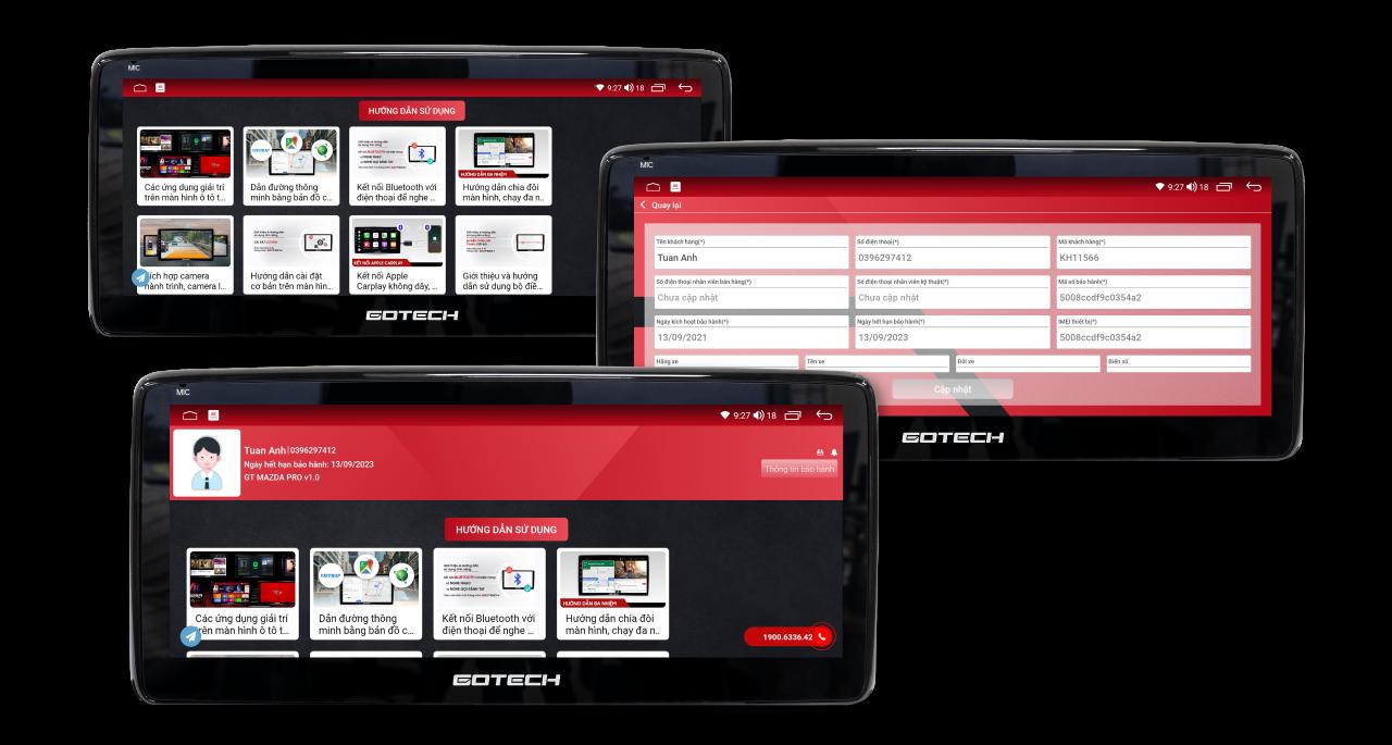 Bảo hành điện tử thuận tiện thông qua ứng dụng GOTECH Service