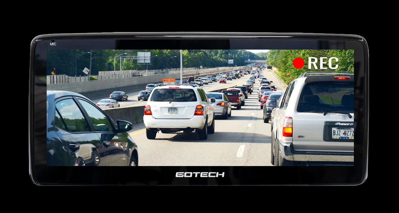 Màn hình ô tô GT - Mazda 360 Pro hỗ trợ quan sát toàn cảnh