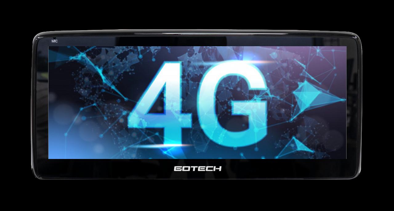 GT Mazda Pro cung cấp khả năng kết nối internet thông qua sim 4G tốc độ cao