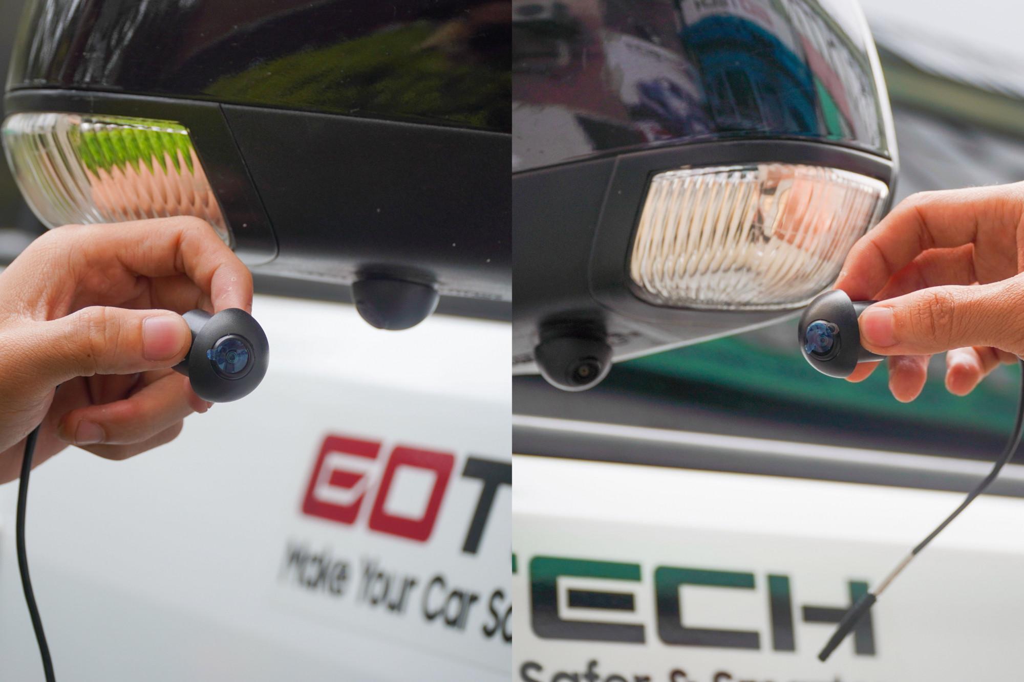 Lắp đặt camera 360 ô tô