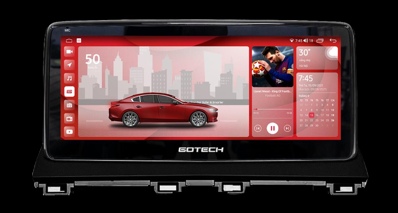 Màn hình ô tô thông minh GT Mazda 360 Limited cho xe Mazda 3 2015 - 2019