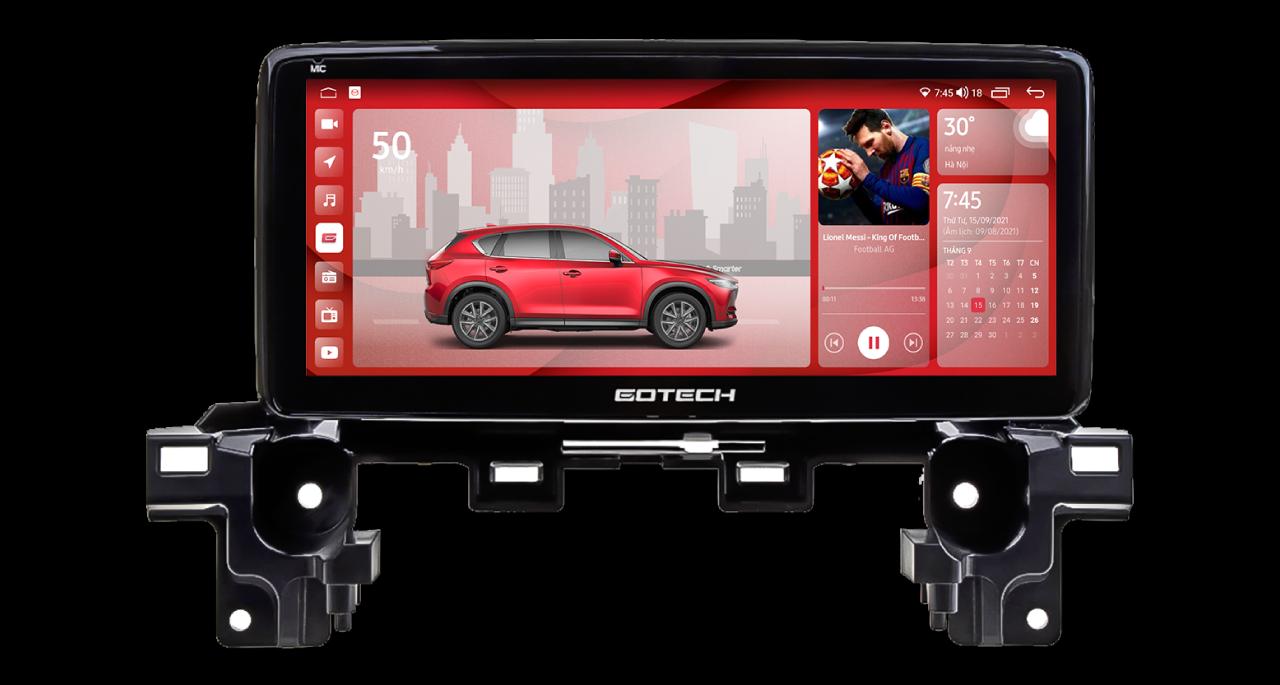 Màn hình ô tô thông minh GT Mazda Limited cho xe Mazda CX5