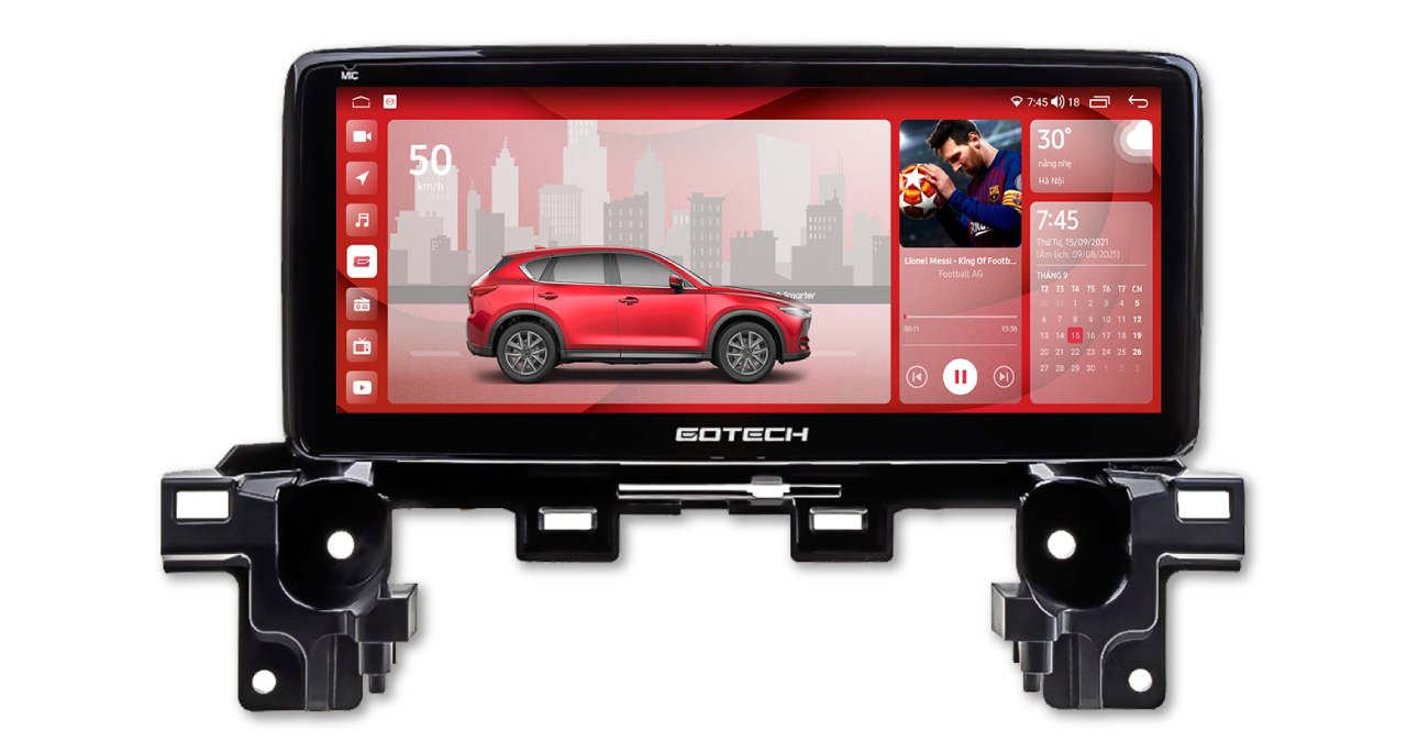 Màn hình ô tô thông minh GT Mazda Limited cho xe Mazda CX8