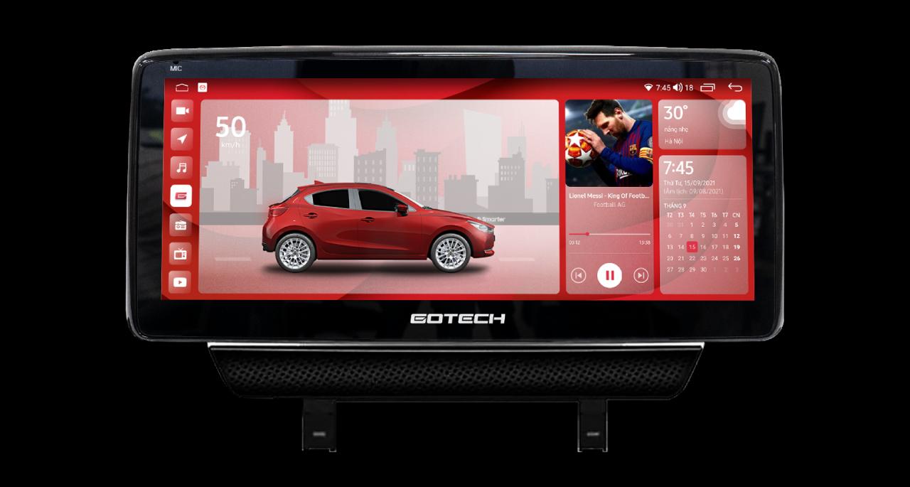 Màn hình ô tô thông minh GT Mazda Pro cho xe Mazda 2
