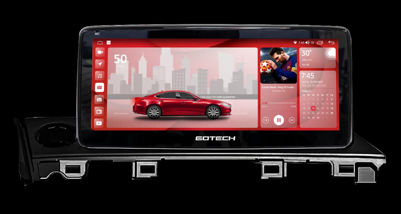 Màn hình ô tô thông minh GT Mazda Pro cho xe Mazda 6 2015 - 2019