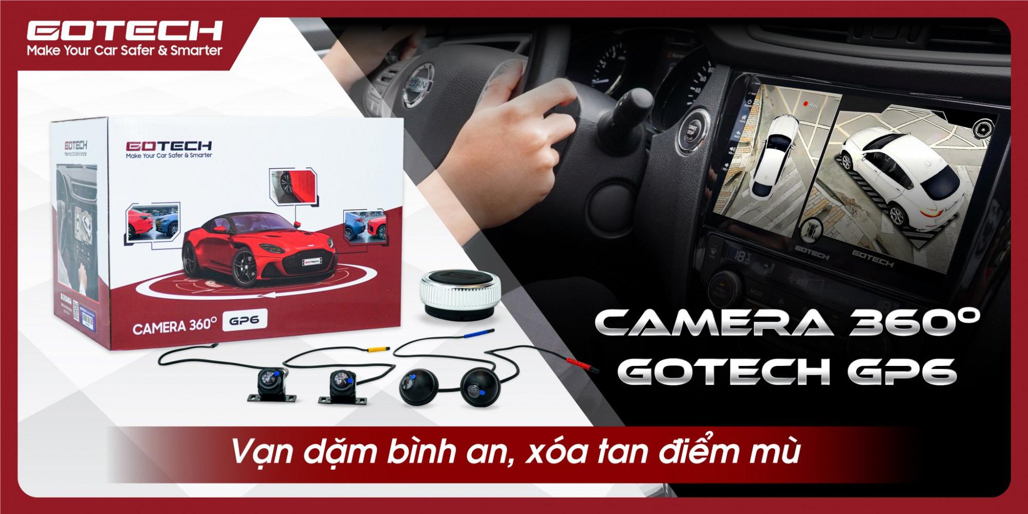 ra mắt camera 360 ô tô gotech gp6