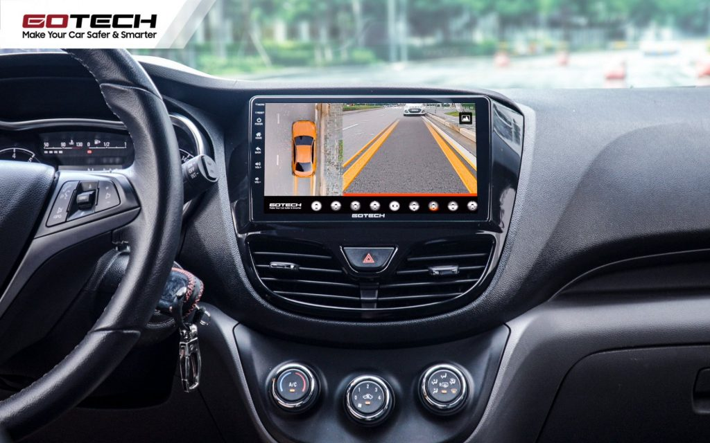 Ưu tiên lựa chọn camera 360 cho ô tô góc nhìn rộng, ghi hình sắc nét.