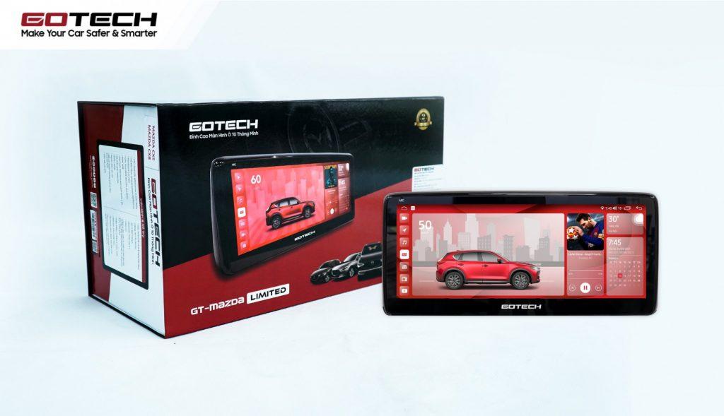 Siêu phẩm màn hình Gotech GT Mazda thế hệ mới.
