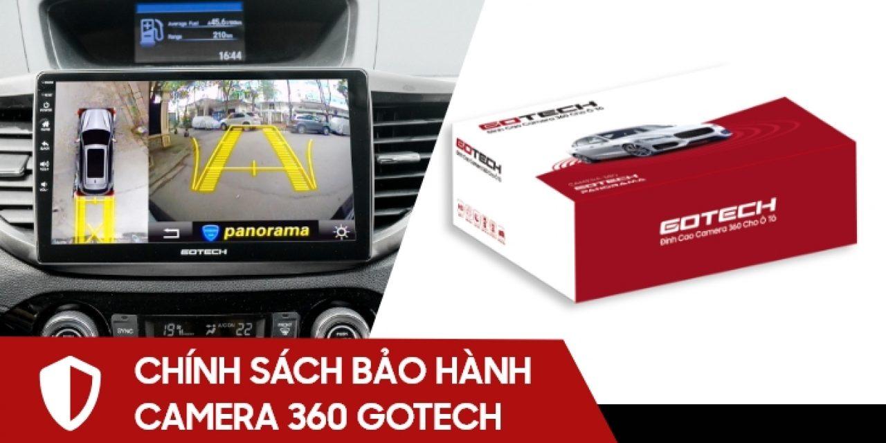 Chính sách bảo hành và đổi trả sản phẩm camera 360 GOTECH