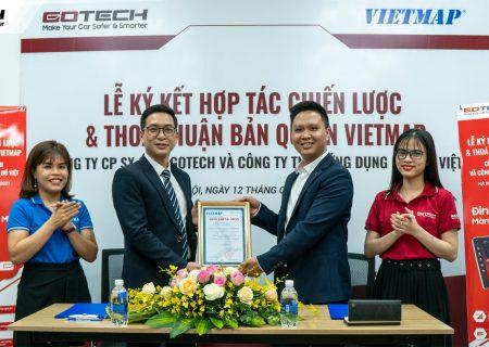 GOTECH hợp tác cùng Vietmap