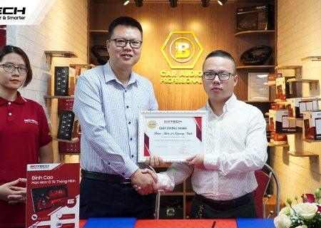 GOTECH và Bcar Auto 365 Quảng Ninh ký kết hợp đồng đại lý Kim Cương