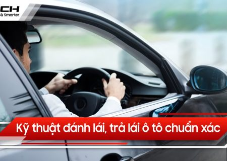 đánh lái trả lái ô tô