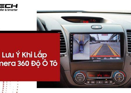 lắp camera ô tô 360 độ