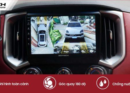 Nguyên lý hoạt động camera 360 ô tô